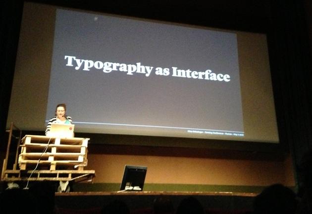 Tipografia e interfaccia