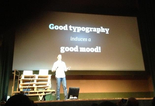 Richard Rutter - Good typografy, good mood